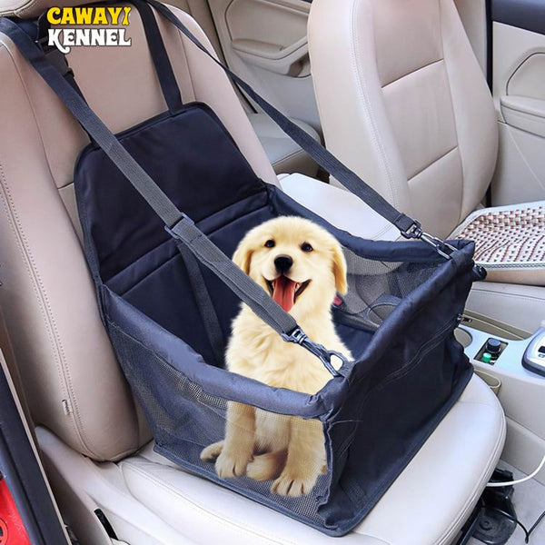 Travel Dog Car Seat Cover Folding Hammock Pet Carriers Bag Carrying For Cats Dogs