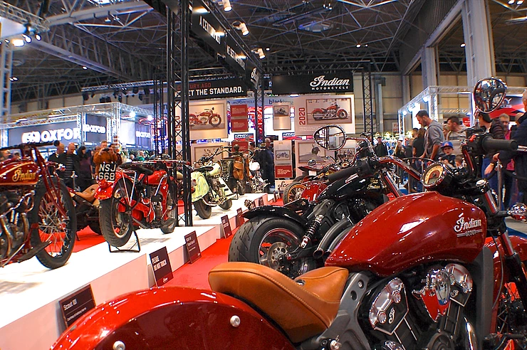 UK celebrated 100 years of the Indian Scout