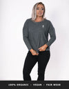 Waver 3/4 Sleeve - Heather Gray