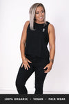 Dancer Tank Top - Black