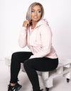 Iconic Zip-Tru Hoodie - Mid Heather Pink