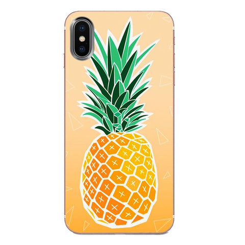Coque Ananas doré pour Apple iPhone XR