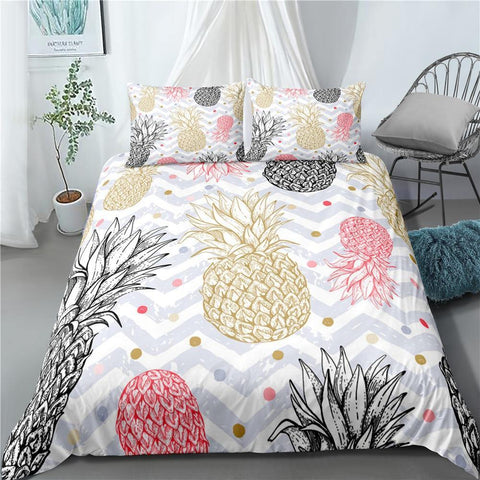 Drap Housse 2 Personnes Ananas - Univers Ananas