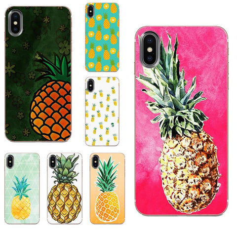 Coque Ananas pour Apple iPhone