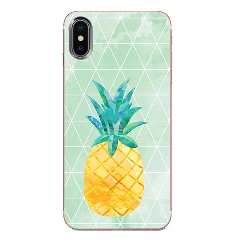 Coque Ananas pour Apple iPhone SE 2020