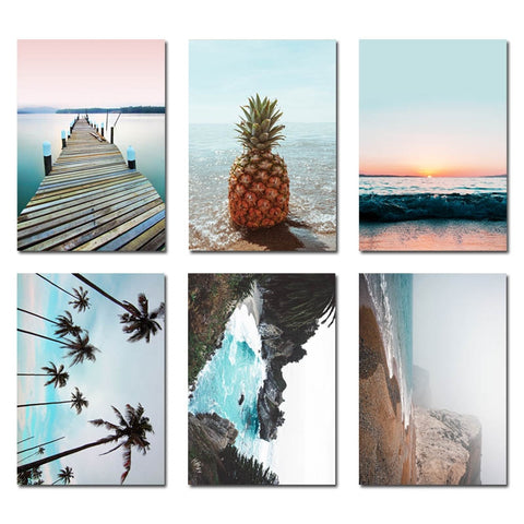 Tableau ananas scandinave Wallart Collection