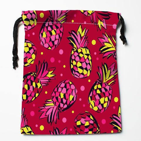Sac Couture Ananas Rouge