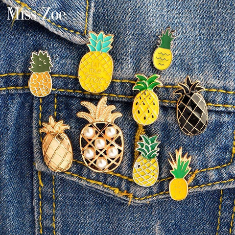 Bijoux ananas jean styling - Univers Ananas