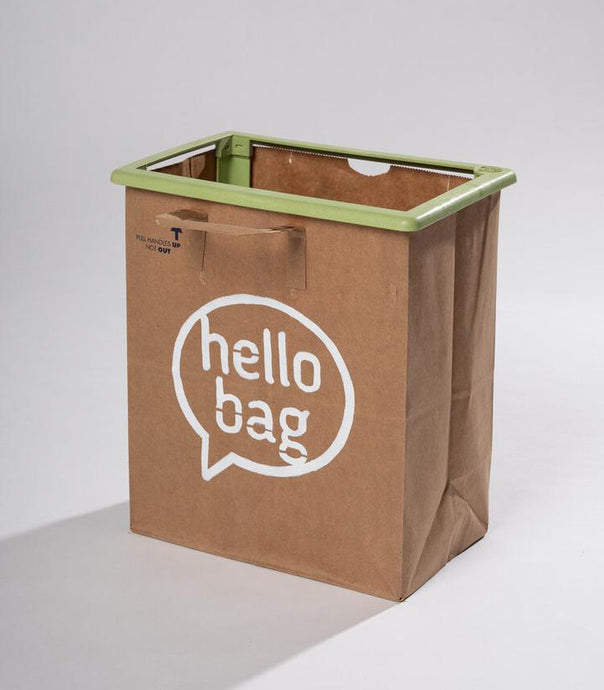 Mint Hello Bag (1 Pack)