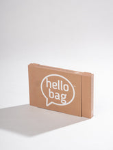 Load image into Gallery viewer, mixed blue hello bag (3 pack)