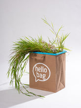 Load image into Gallery viewer, blue hello bag (1 pack)