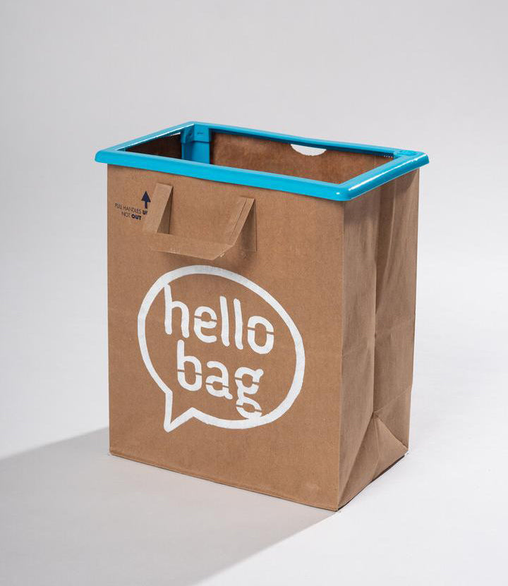 blue hello bag (1 pack)