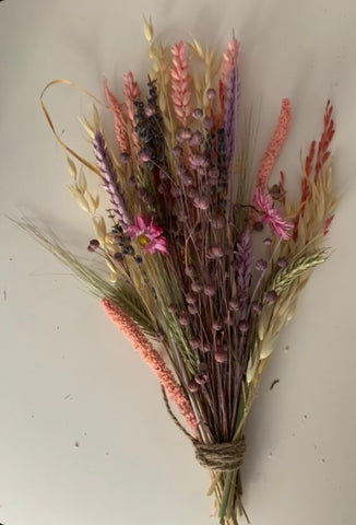 Pink Dried Bouquet
