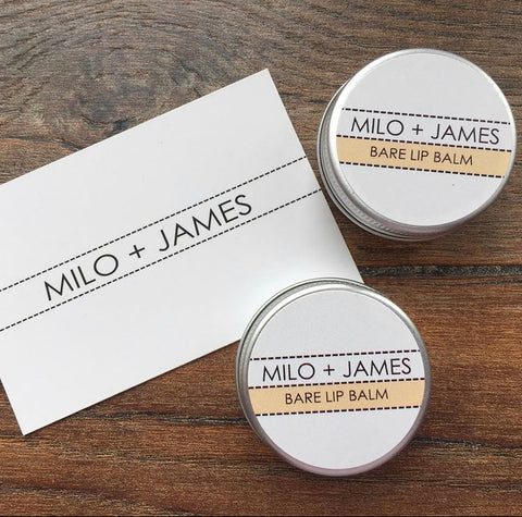 Milo + James Bare Lip Balm