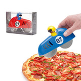 Pizzasnijder Raceauto rood