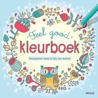Feel good COLOR tekenboek