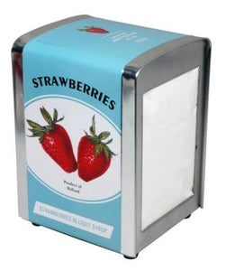 Tissue Dispenser Strawberry