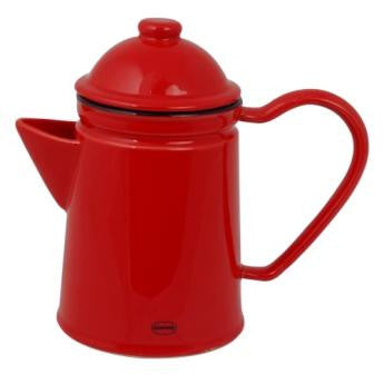 Thee of Koffie potje rood