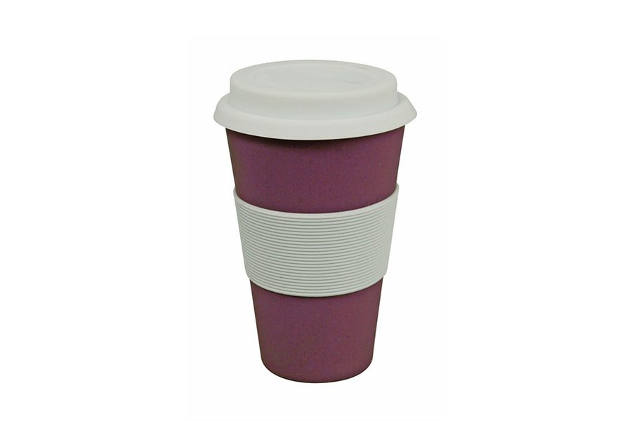 Koffie travel mok - Fig violet