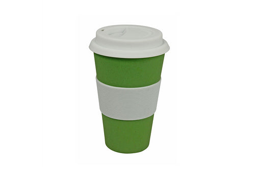 Koffie travel mok - Wasabi green
