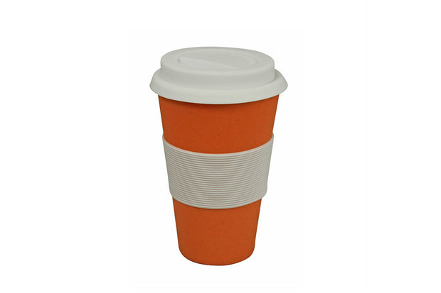 Koffie travel mok - Pumpkin orange