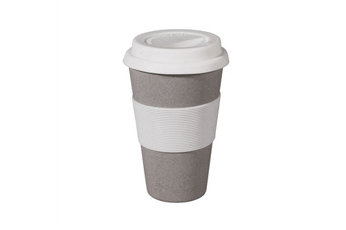 Koffie travel mok - Stone grey