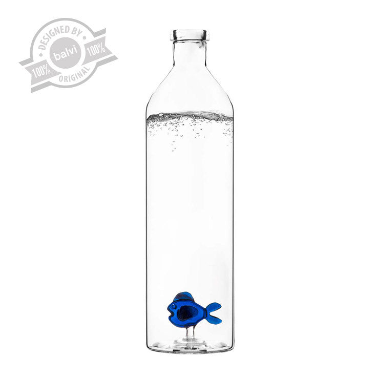 Water karaf - Blue Fish 1.2 L - glas