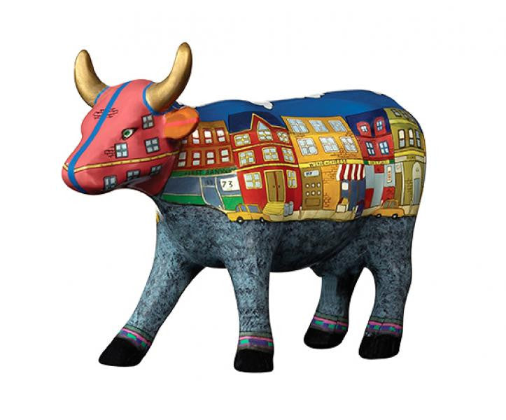 A Moo York Neighborhood (medium ceramic)