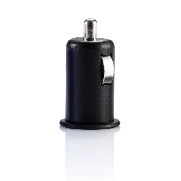 Micro car USB charger zwart