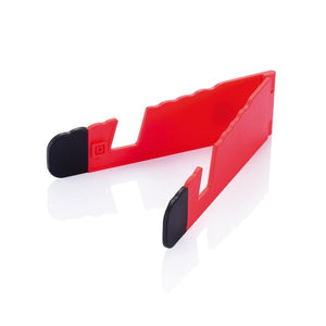 Foldable stand rood
