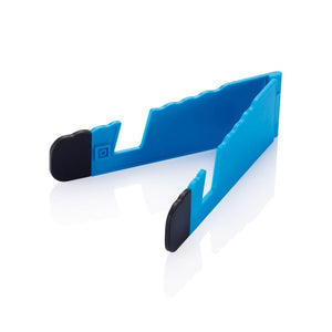 Foldable stand royal blauw