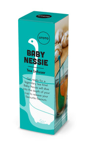 Baby Nessie thee-ei - turquoise