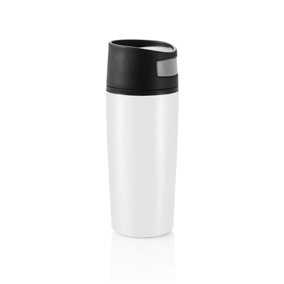 Thermos beker Auto 300ml wit