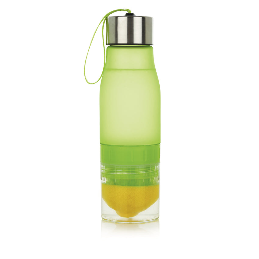 Citroenwaterfles 650ml groen
