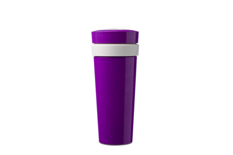 Duo Beker To Go 400ml - Violet