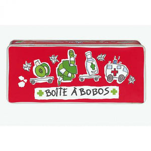 First-aid blik Large Bobos - red