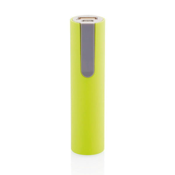 2200 mAh powerbank lime