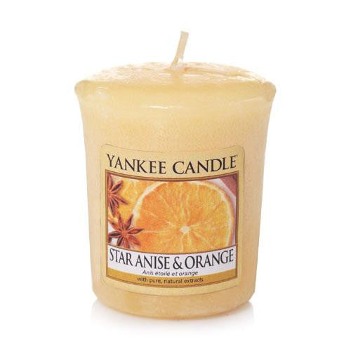 Votive Star Anise & Orange