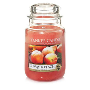Geurkaars Large Jar - Summer Peach