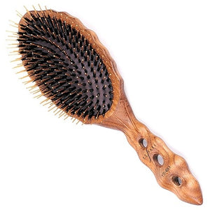 YS Park YS-651 Boar Bristle Wood Styler with Pins
