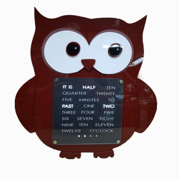 Owl Creative WordClock
