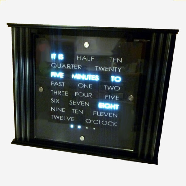 Pillar Mantlepiece WordClock