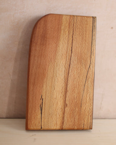 Medium chunky spalted beech chopping board 2