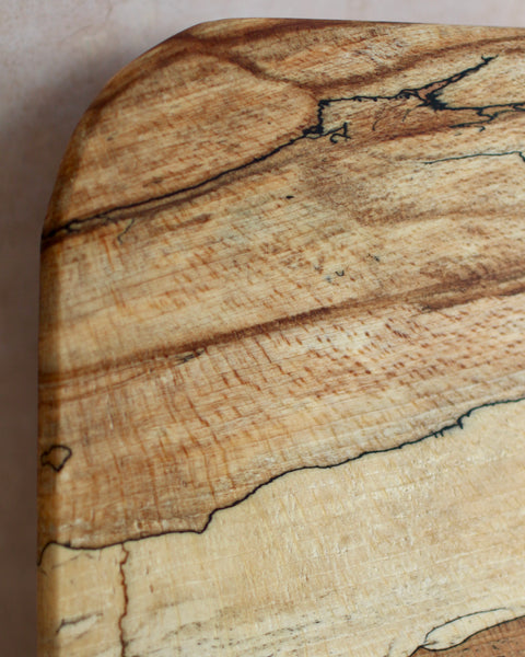 Small chunky spalted beech chopping board