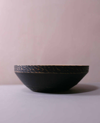 Painted Bowl (black)