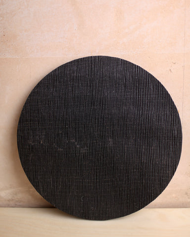 Ebonised textured oak board 4