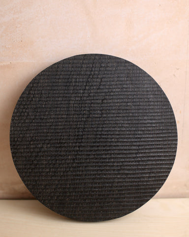 Ebonised textured oak board 2