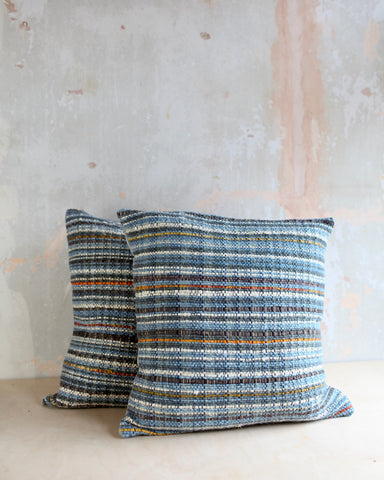 Alpaca and Silk Handwoven Cushion