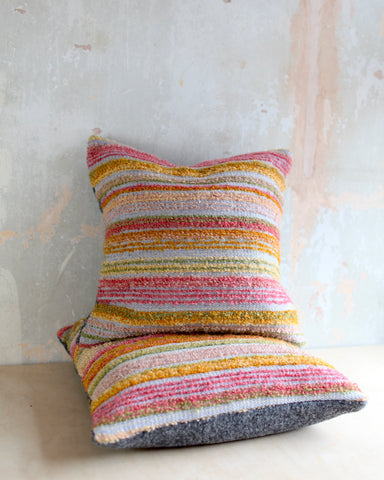 Bouclé Handwoven Cushion