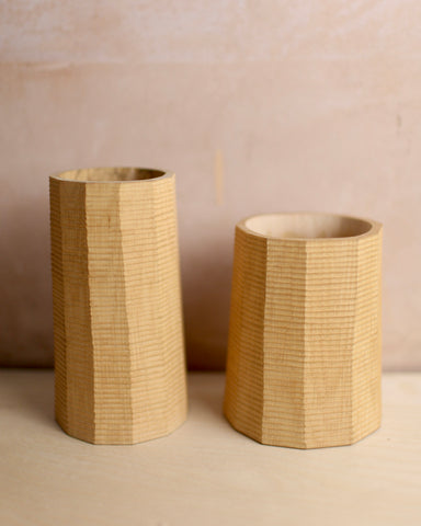 Small textured pot